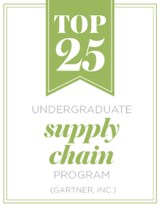 Top 25 Undergraduate Supply Chain Program (Gartner, Inc.)